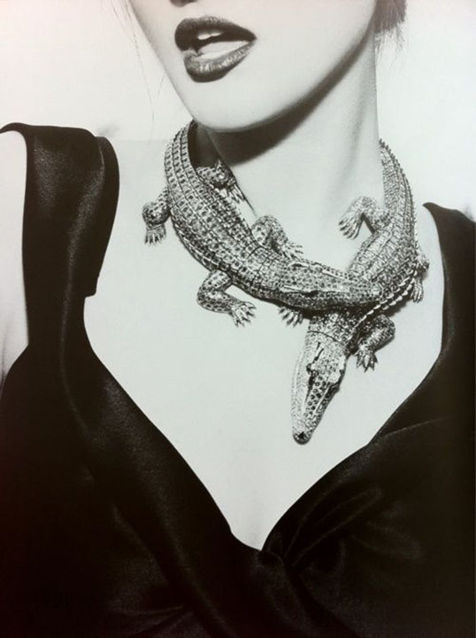 Crocodile Necklace Commissioned from Cartier by Maria Felix