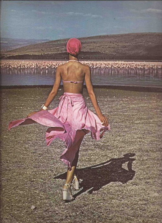 Pink Flamingos Lake Pat Cleveland, Barry McKinley, 1974, Nakura Fashion Lothar's Beauchamp Place
