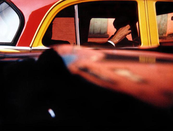 Taxi, Saul Leiter, 1957