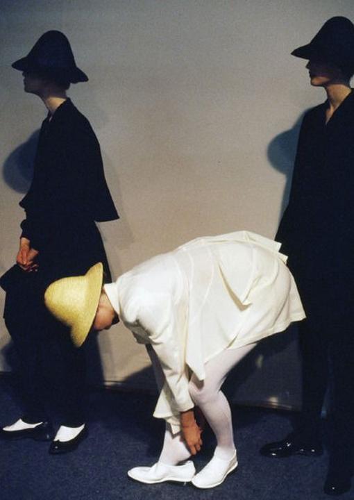 Backstage, Comme Des Garcons, 1987
