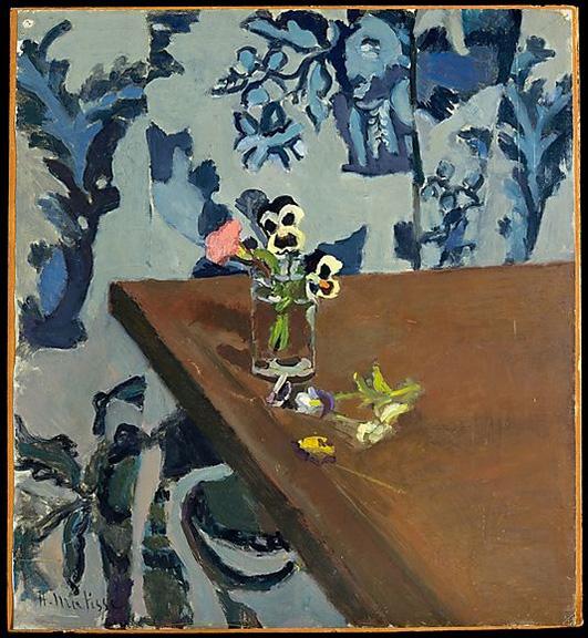 Pansies, Henri Matisse, 1903