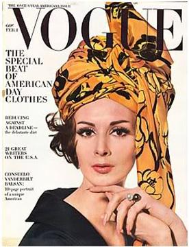 Wilhelmina Cooper, Irving Penn, American Vogue February 1963