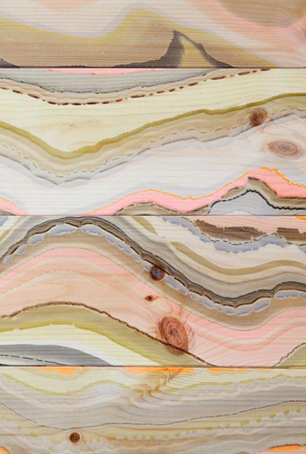 Marbelous Wood Wave, Pernille Snedker Hansen, Ash floorboards Marbling Patter Lacquaer