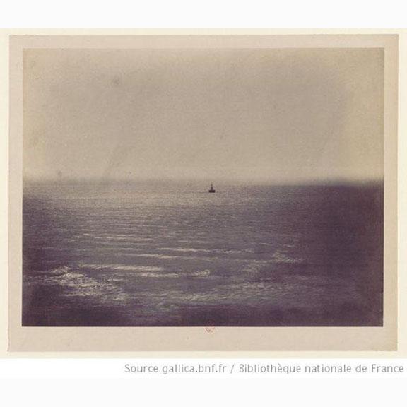 0129b Gustave Le Gray, Le Paquebot, Ocean, no. 3, (the Boat, ocean) 1856.jpg