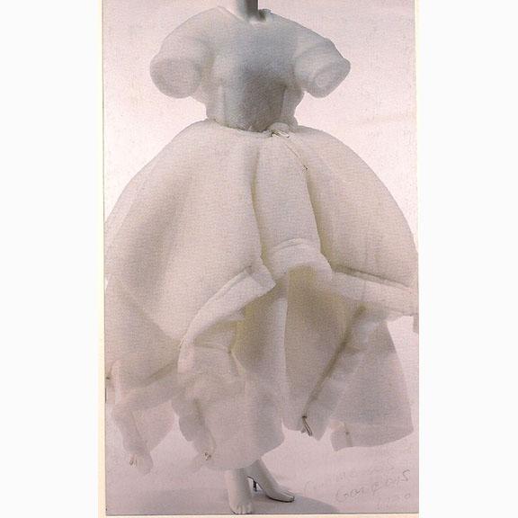 Comme des Garcons, Wedding Dress, 1990
