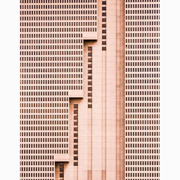 Nikola Olic, Dimensionless Photographic Facade Studies, Building with Steps