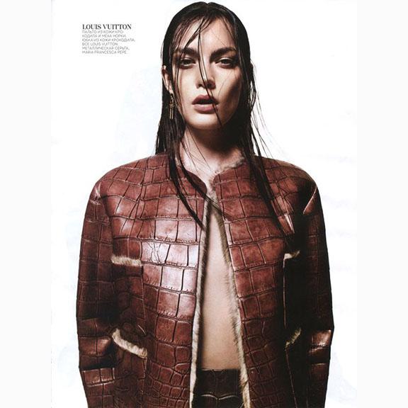 Jason Kibbler, Patrycja Gardyga, Vogue Russia, August 2013
