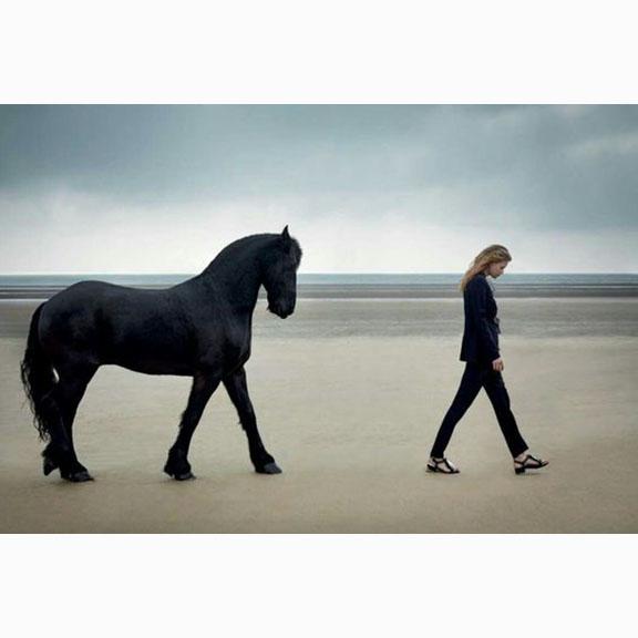 Agata Pospieszynska, Holly May Saker, Beside the Silver Sea, Harpers Bazaar UK, July 2016