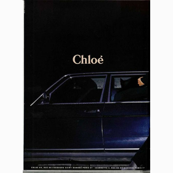 Chloe, Blue Sedan, Advertising Campaign