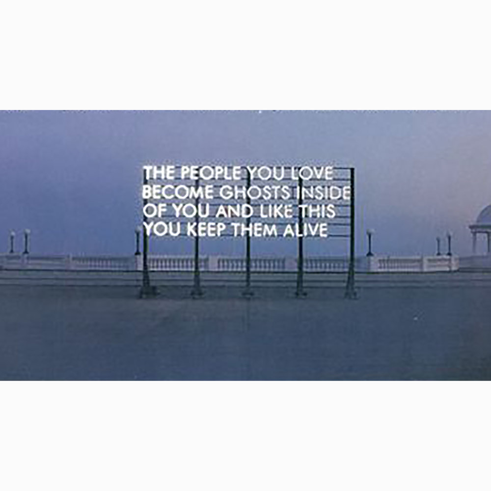 Robert Montgomery, Ghost in the Machine, 2010