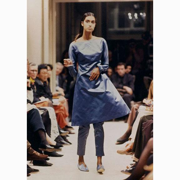 Prada F/W 1989, Yasmeen Ghauri