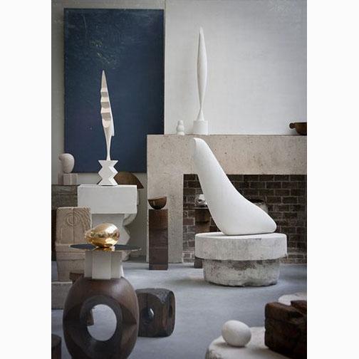 Studio of Constantin Brancusi, Piazza of the Centre Pompidou