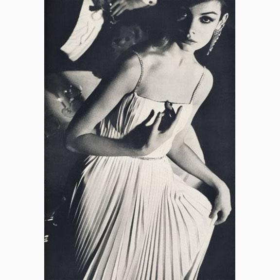 David Bailey, Jean Shrimpton, British Vogue, April 1962