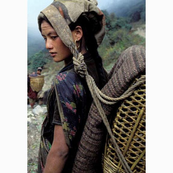 Bruno Morandi, Chhetri Woman in Nepal, 2009