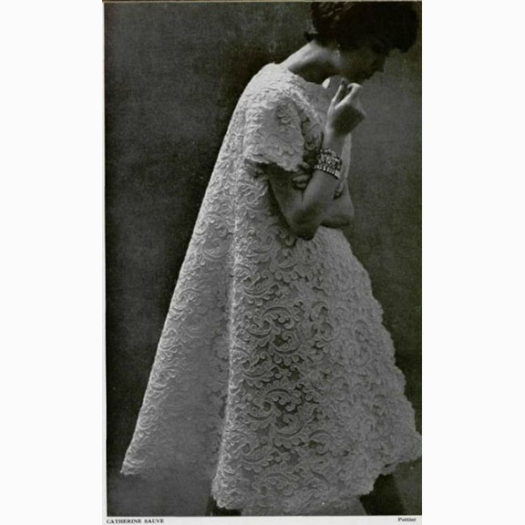 Catherine Sauve, Evening Coat, 1958