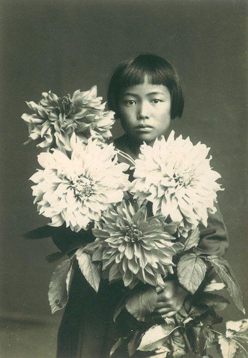 Yayoi Kusama at age 10 1939