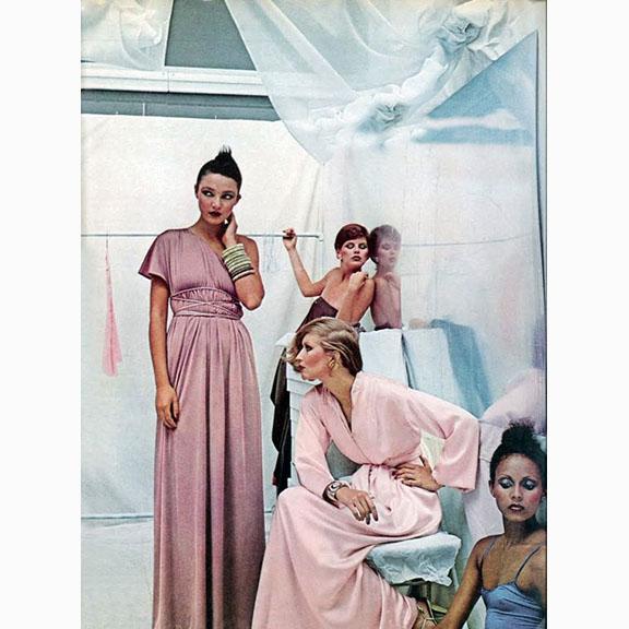 Deborah Turbeville, Bathhouse, Vogue May,1975