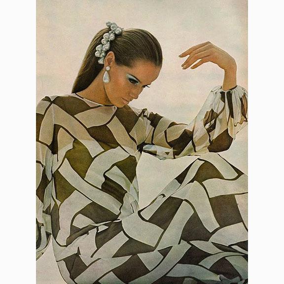 Bert Stern, Veruschka, Vogue US, 1966