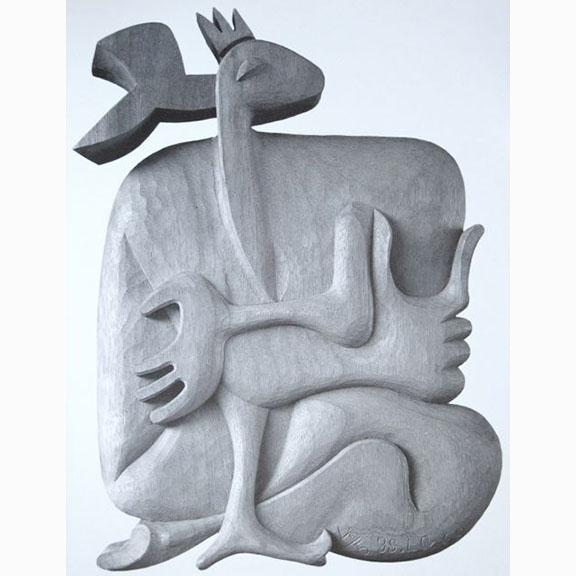 Le Corbusier, La Biche no 37, 1963