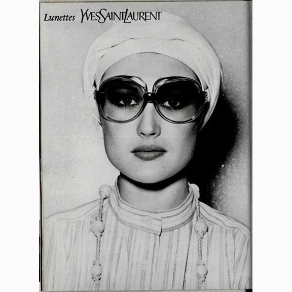 Yves Saint Laurent, Advertisement, 1976
