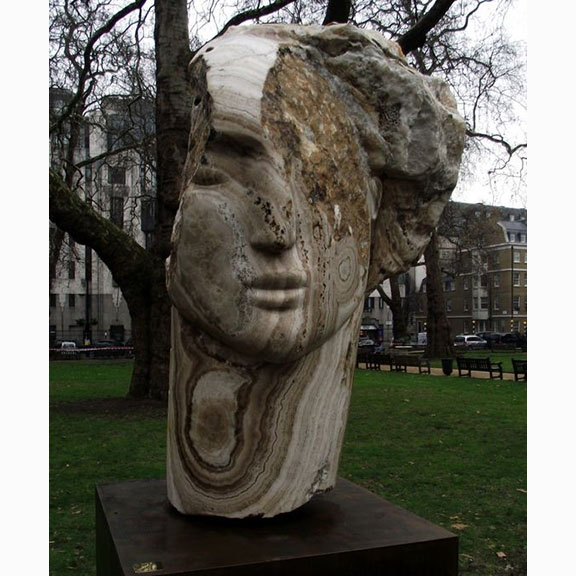 Emily Young, Metaphysics of Stone, 2012