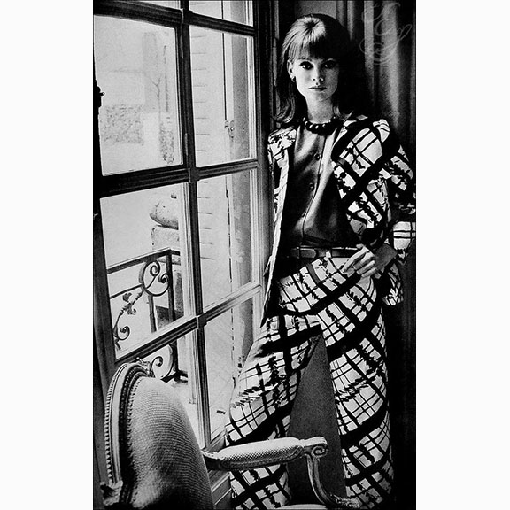 David Bailey, Jean Shrimpton, 1960