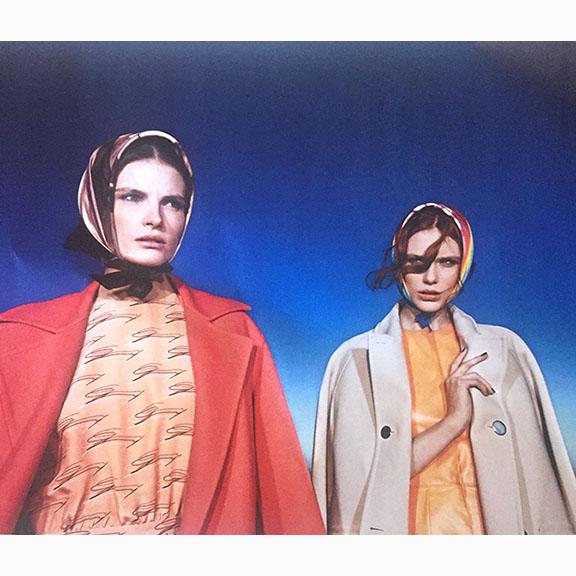Steve Hiett, Suggestions, Helena Greyhorse and Nikola Romanova, Styled by Giulio Martinelli, Vogue Italia, February 2014