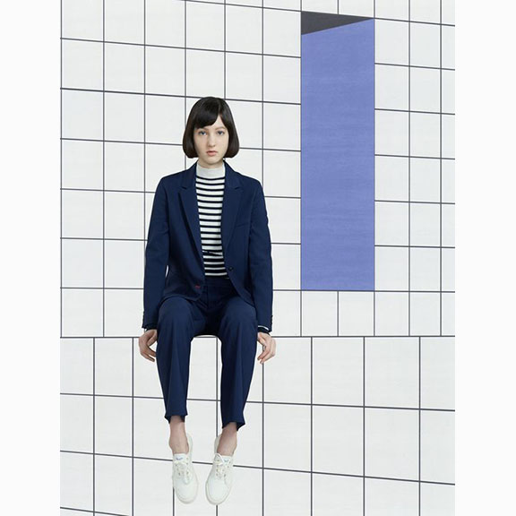 Maison Kitsune, Women's Pre-collection, F/W 2017