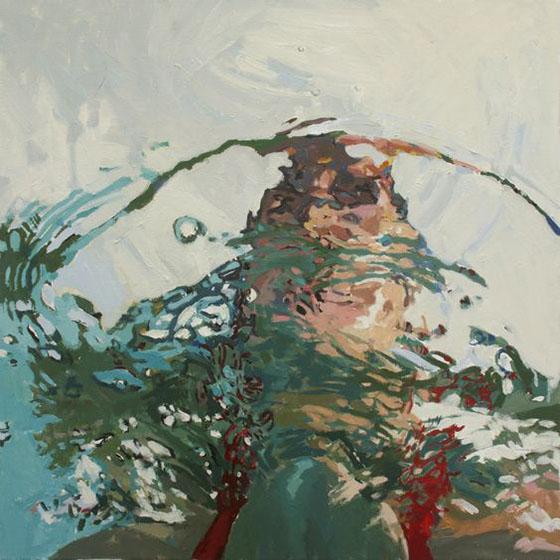 Samantha French, Self Portrait, Oil on Canvas