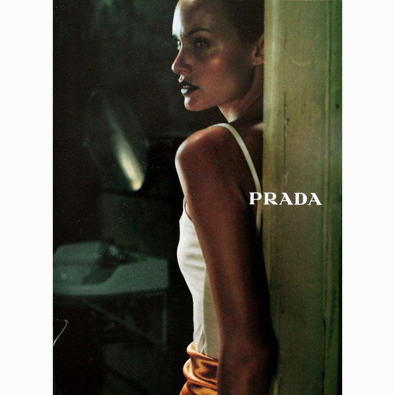 Glen Luchford, Amber Valletta, Prada Campaign,Fall 1997