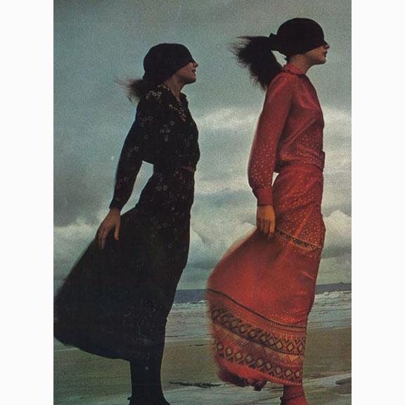 Guy Bourdin, Les Filles de I'an 71, Vogue Paris, February 1971