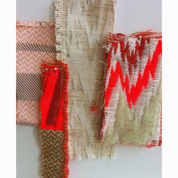 Mae Engelgeer, Textile Samples