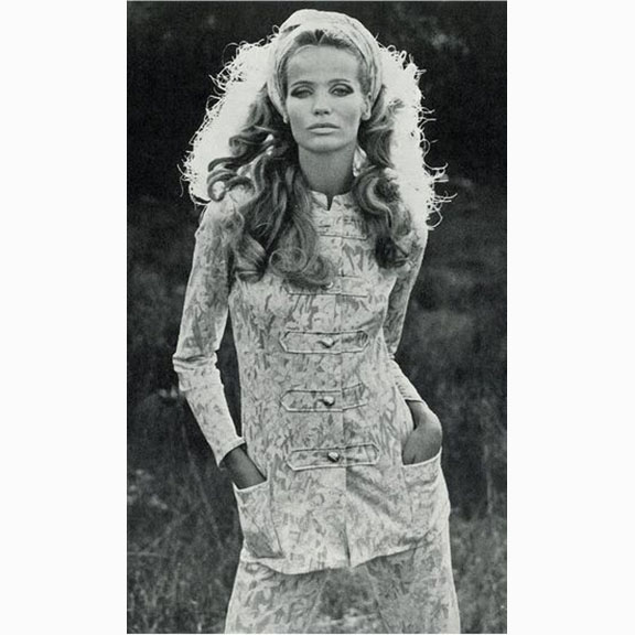 Franco Rubartelli, Veruschka, UK Vogue, January 1968