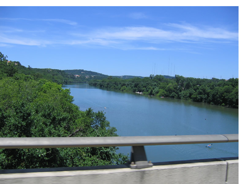 Town Lake / Lady Bird Johnson Lake in Austin, Texas