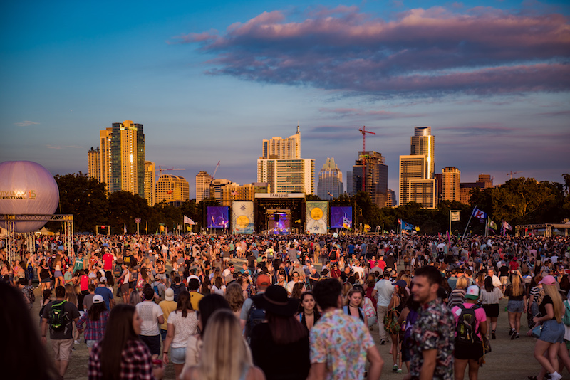 Austin City Limits in Austin, Texas. Photo cred: Katrina Barber