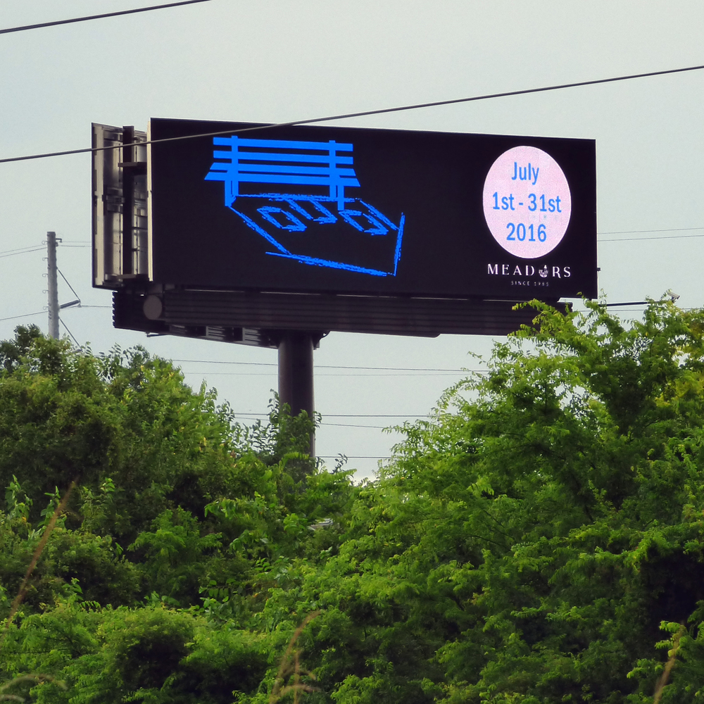Billboard on I-26 near Cosgrove