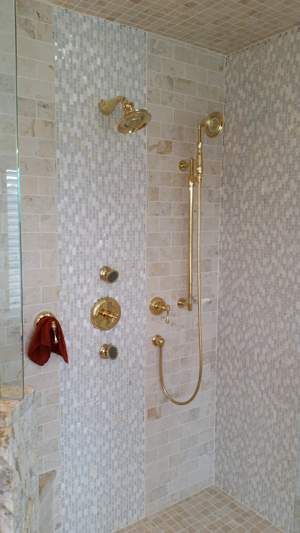 Gorgeous Shower Details