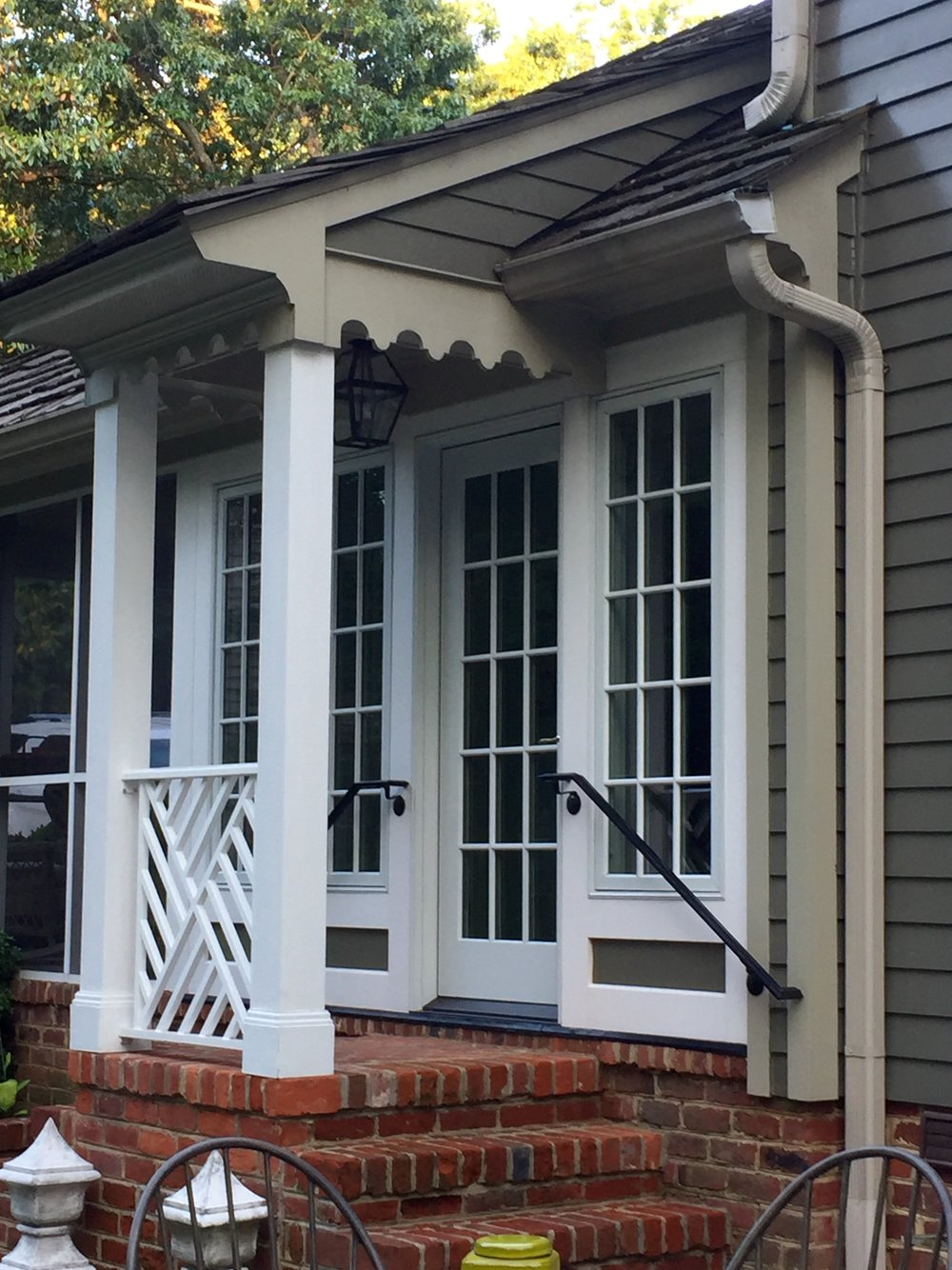 Custom Trim, Windows and Railing