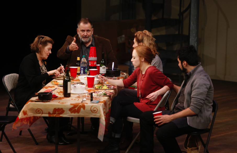 Cast of THE HUMANS at St. Louis Rep - Photo by Jerry Naunheim, Jr.