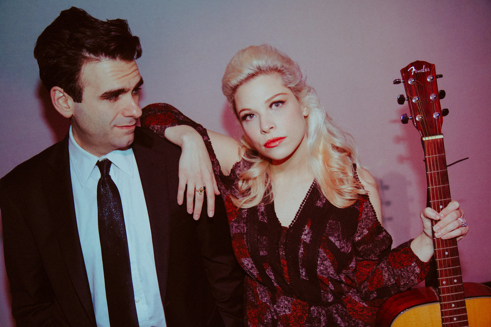 Lauren Marcus and Joe Iconis in LOVE LETTER - Photo by Andy DeLuca