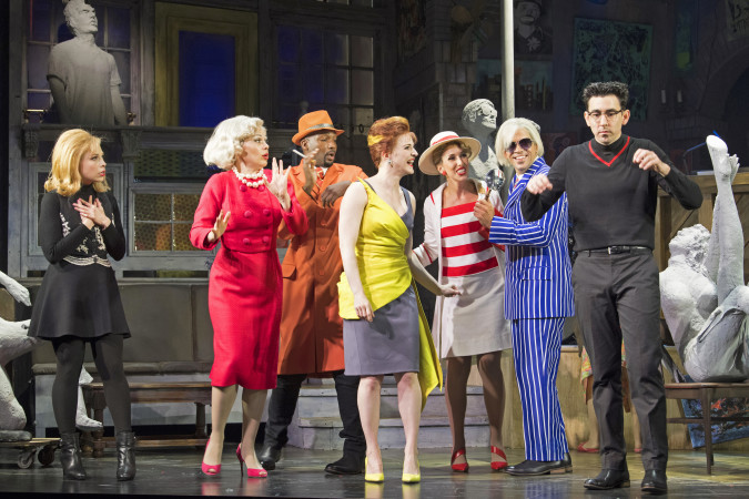 Cast of BEATSVILLE at Asolo Rep - Photo by Cliff Roles