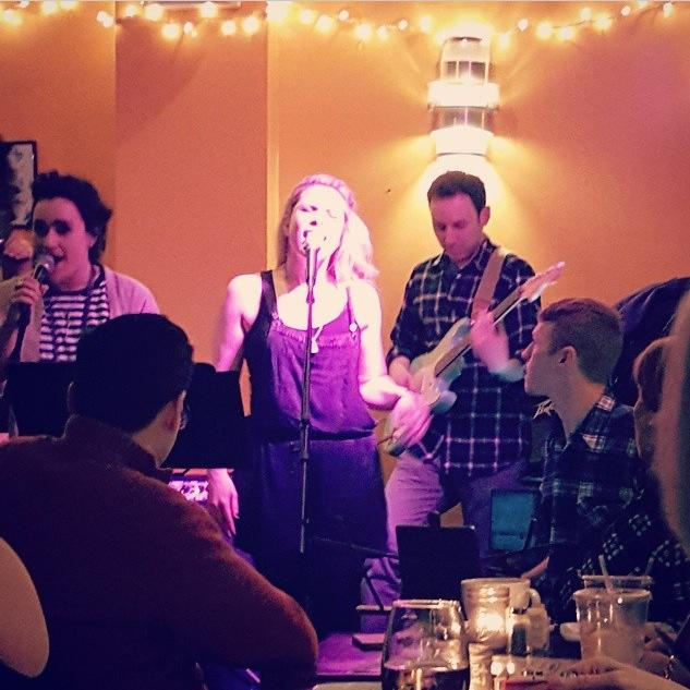 Live at The Path Cafe - Photo by Katrina Rose Diderikson