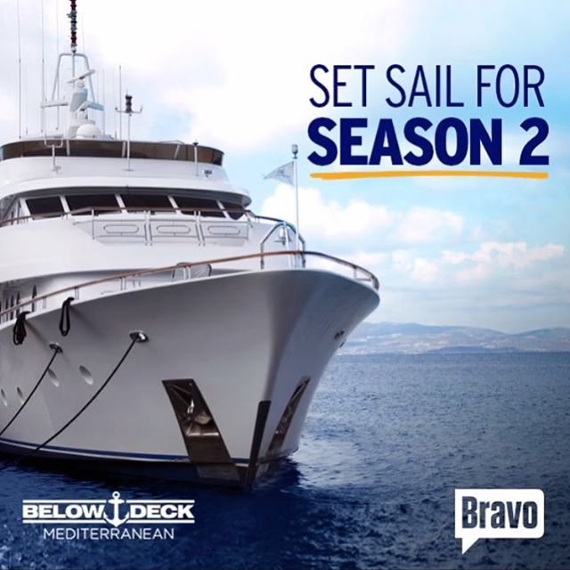 Full steam ahead!!! #bravo #belowdeckmed #dramaonthehighseas #bravotv