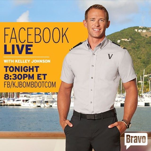 Chat live with Kelley Johnson from #BelowDeck !! #Facebook #reality #bravo