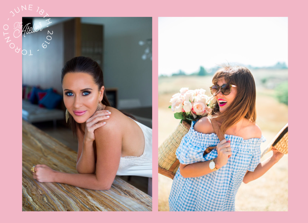 the atelier 2019 - keynote speakers - jessica mulroney - jillian harris - ruby social co.