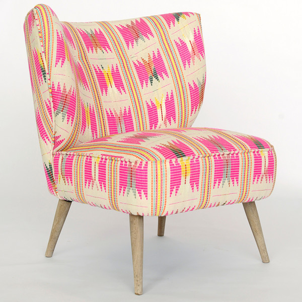 Indochine Low-Back Chair