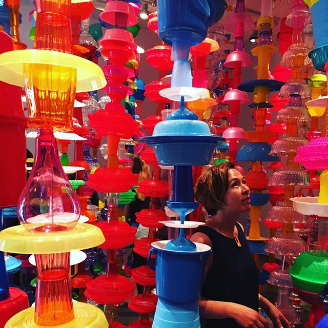 In a plastic jungle - putting mass production to creative use | Choi Jeong Hwa #Insightful #Creativity #Lifestyle #Handmade #MassProduced #Artisan #Plastic #Upcycle #Kitchenware #Makers #Craftsmanship #HomeAsArt #Artwork #Design