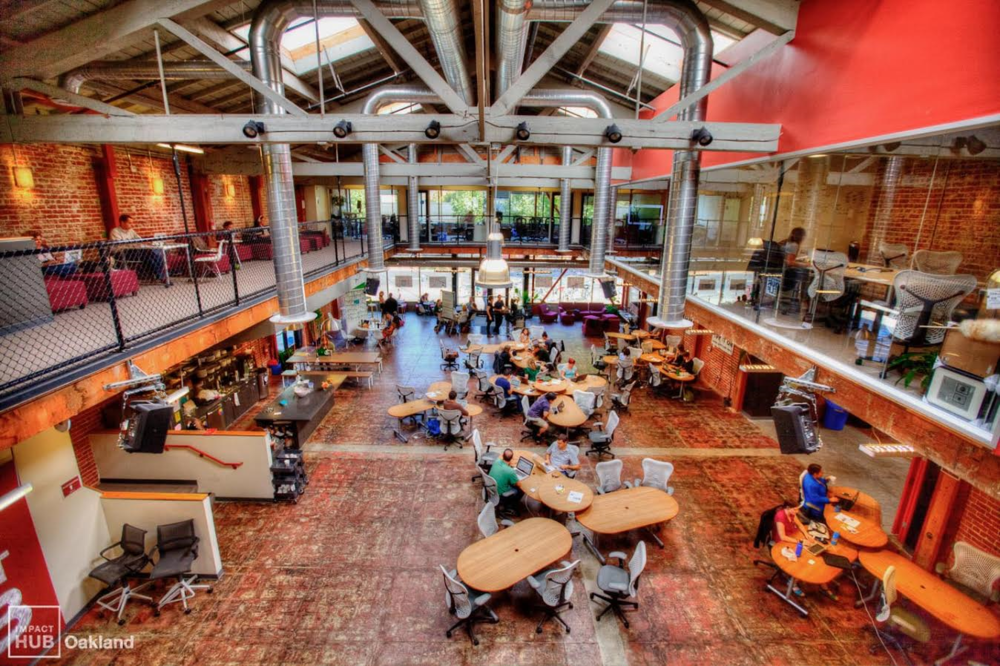 Oakland Impact Hub  Listed as #1 co-working space in U S
