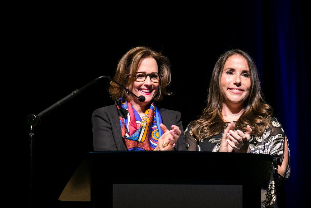 Chairs Lisa Reiner and Pamela Rosenberg