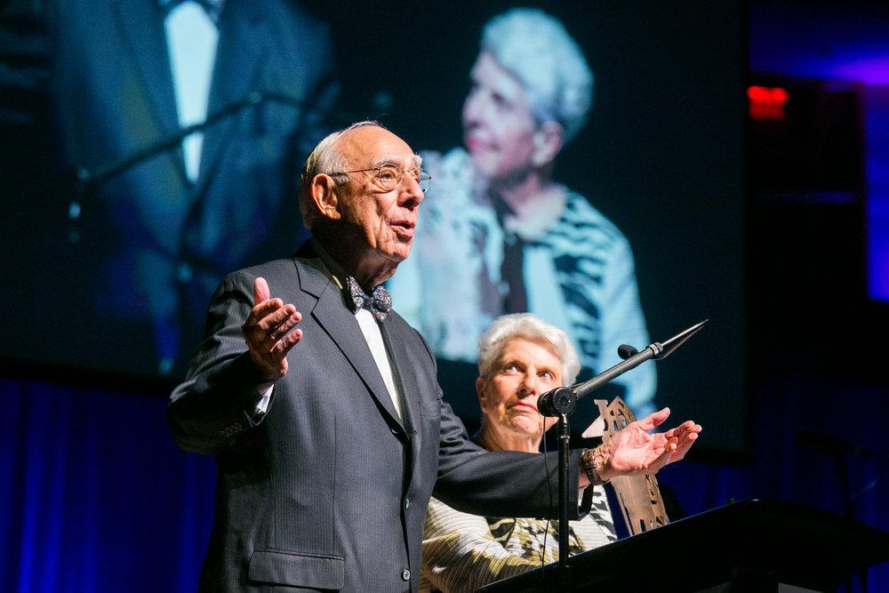 Honorees Rabbi Matthew and Dr. Sara Rubinow Simon